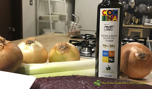 Green Gold COCINA range extra virgin olive oil